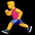 Person Running on Apple iOS 12.1