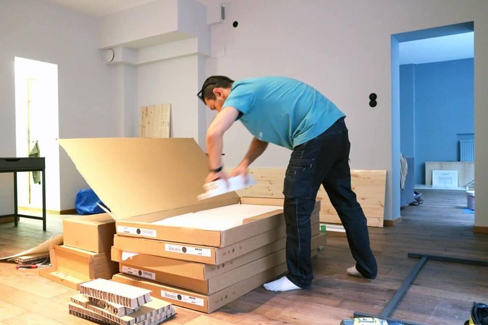 montera möbler