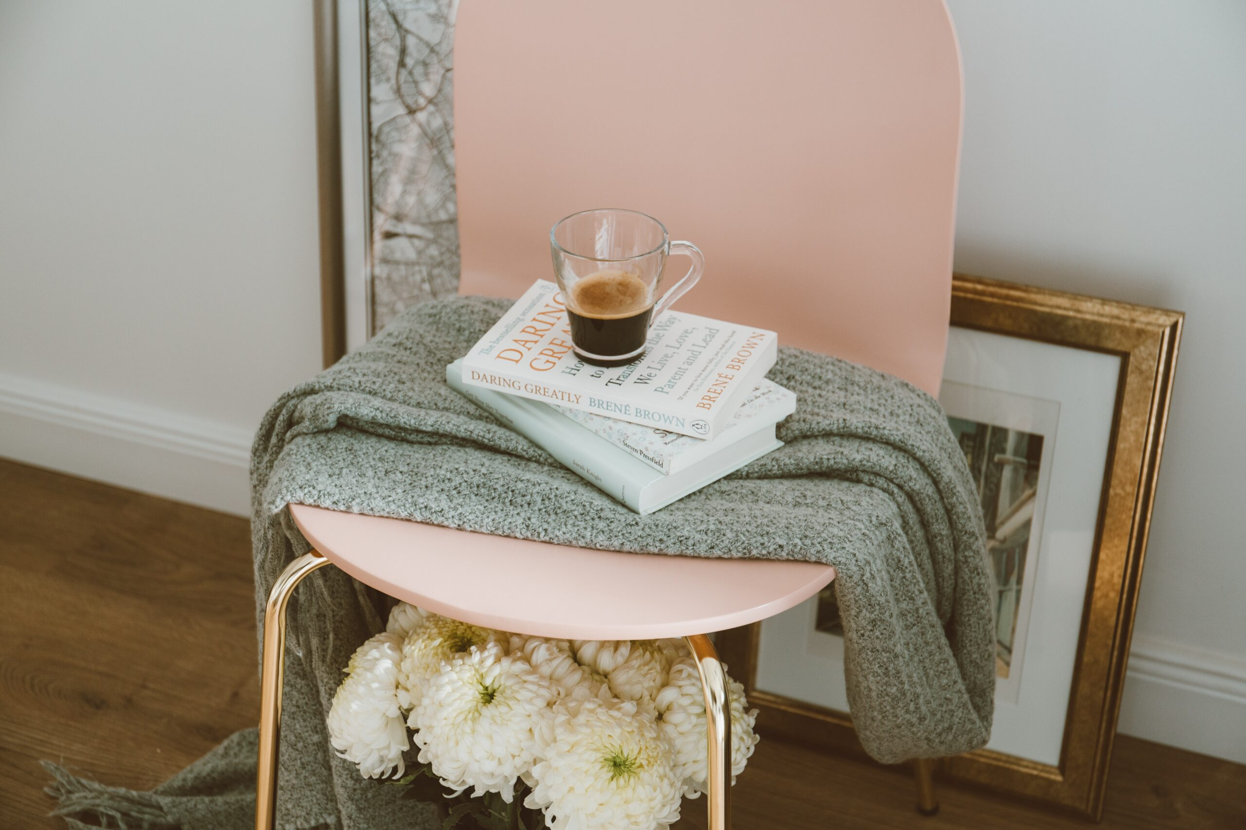 kaffe, böcker